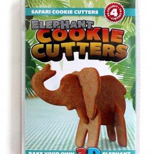 Формы для печенья 3D Safari Слон