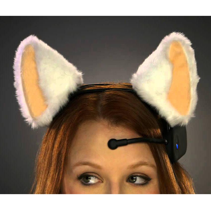 кликаем пипеткой где можно сделать кошачьи ушки на фото тому же