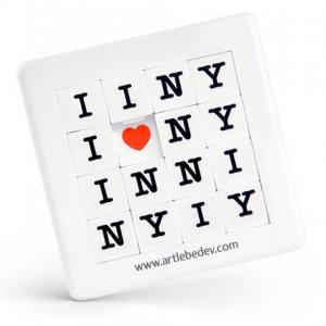 Пятнашки «Я люблю Нью-Йорк»