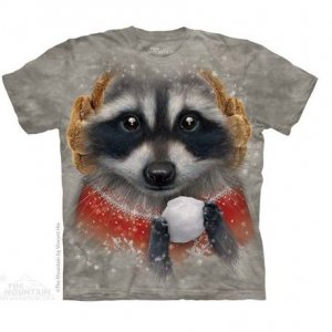 Футболка Snowball Raccoon