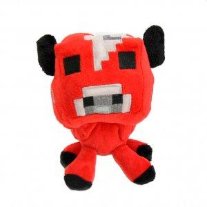 """Плюшевая игрушка """"Minecraft Baby Mooshroom"""" Майнкрафт Детеныш грибной коровы, 15 см"""