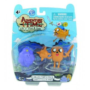 Фигурки Adventure Time Lumpy Space Princess and Lumpy Jake 2в1 (6см)