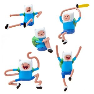 Набор фигурок Adventure Time Battle pack Finn (4см) (8 фигурок в наборе)