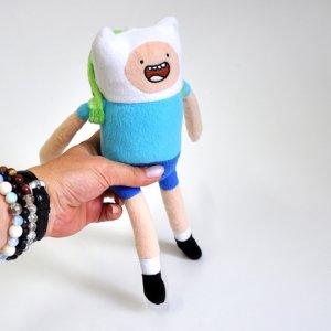 Плюшевая игрушка Финн Finn Adventure Time (25см)