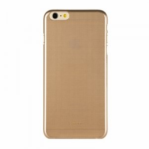 "Накладка пластиковая FSHANG для iPhone 6 Plus 5.5"" под алюминий золотистая"