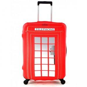Чехол для чемодана Fancy Armor - Phone booth
