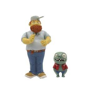 Фигурки Растения против Зомби Crazy Dave & Imp (8см)