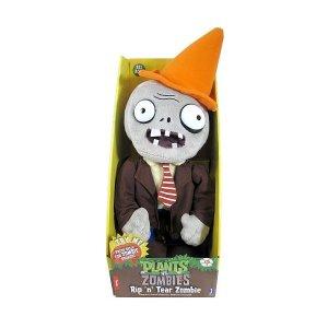 Плюш игрушка Растения против Зомби Rip 'n' Tear Zombie (40см)