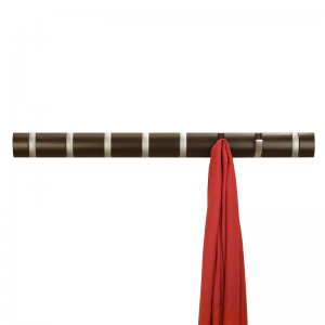 Вешалка настенная горизонтальная Flip 8 крючков