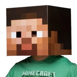 Маска Стива Minecraft Steve