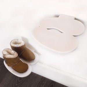 Креативная полка для обуви Footprint