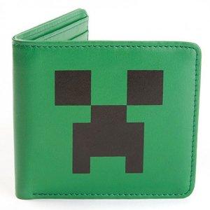 Кошелек Minecraft Creeper Face