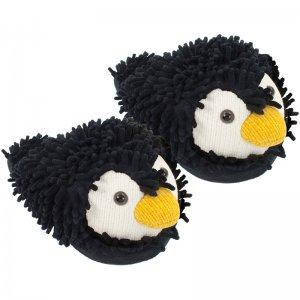 Тапочки Fuzzy Friends пингвины