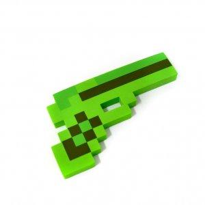 Пиксельный пистолет крипера
