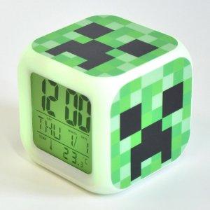 Часы Minecraft Creeper