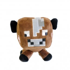 Плюшевая корова Minecraft 16 см