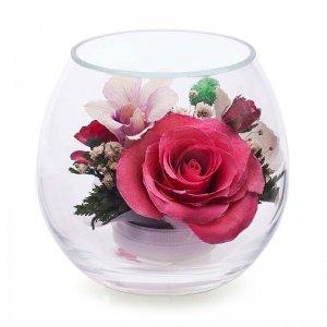 Композиция из роз и орхидей (BmiM-04)