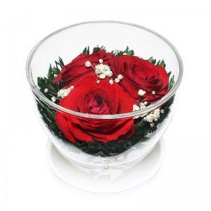 Композиция из красных роз (CuSr3)
