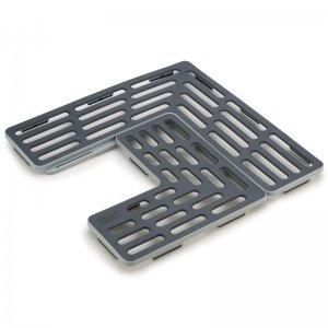 Подложка для раковины универсальная SinkSaver™ серая/белая
