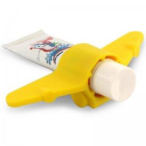 Держатель для зубной пасты Plane желтый