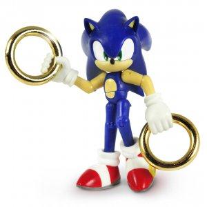 Фигурка Соник Sonic with 2 Rings (9см)