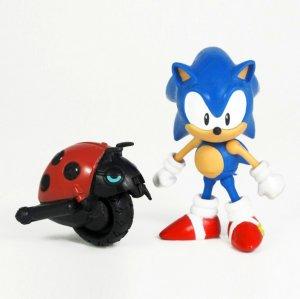 Фигурка Соник Sonic with Moto Bug (8см)