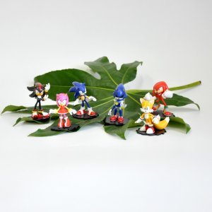 Фигурки Соник 6в1 Sonic Modern Pack (6см)