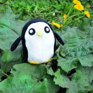 Плюшевая игрушка Пингвин Гантер Adventure time 15 см