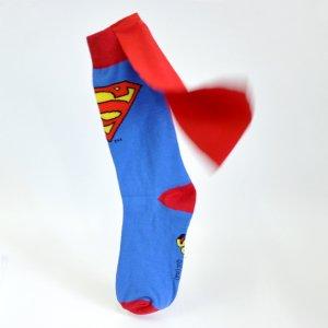 Носки Супермен с плащем
