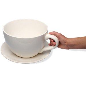 Огромная чашка с блюдцем 3 л
