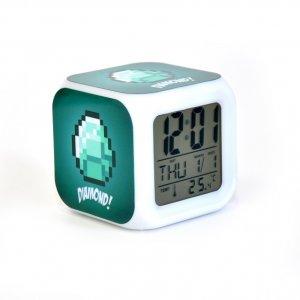 Часы Minecraft Diamond с алмазом