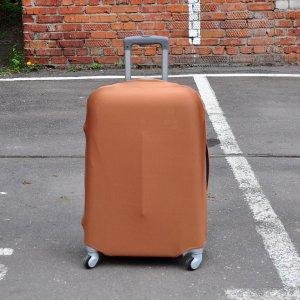 Чехол для чемодана Rainbow коричневый