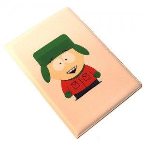 """Обложка для паспорта """"South park"""" Кайл"""