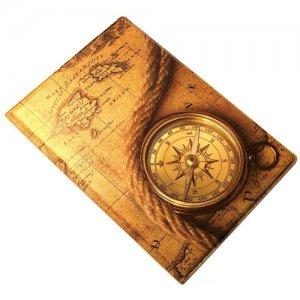 """Обложка для паспорта """"Корабельный компас"""""""