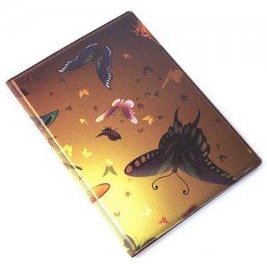 """Обложка для паспорта """"Sunset butterflies"""""""