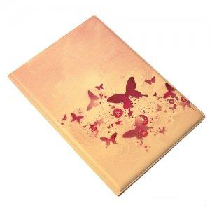 """Обложка для паспорта """"Pink butterflies"""""""