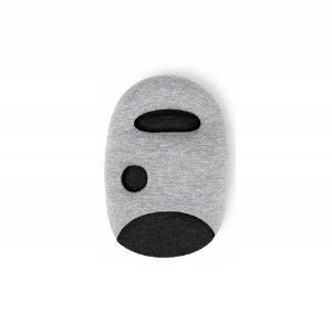 Подушка Страус черная
