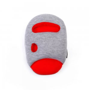 Подушка Страус mini красная