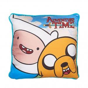 Плюш подушка Adventure Time Finn & Jake 30см