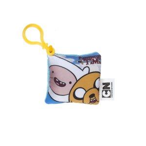 Брелок  мини-подушка Adventure Time Finn & Jake 7,5см