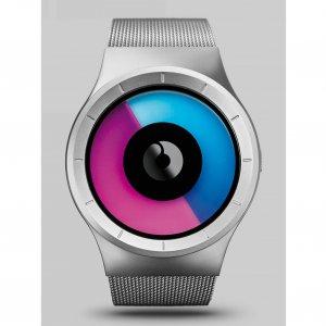Часы ZIIIRO Celeste Chrome - Purple