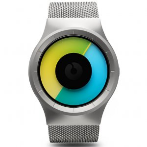 Часы ZIIIRO Celeste Chrome - Colored