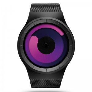 Часы ZIIIRO Mercury Black - Purple