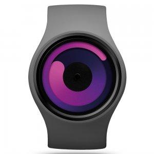 Часы ZIIIRO Gravity Grey - Purple