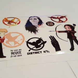 "Набор стикеров ""The Hunger Games"""