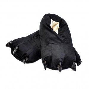 Тапочки для кигуруми черные