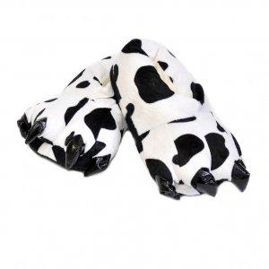 Тапочки для кигуруми черно-белые
