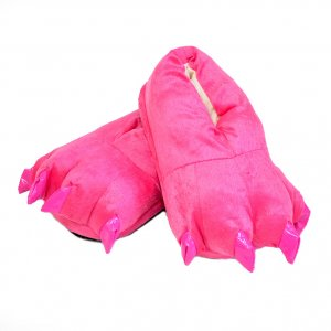Тапочки для кигуруми розовые