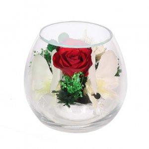 Композиция из роз и орхидей (BmiM-07)