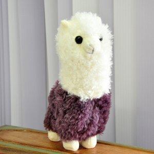 Плюшевый Альпака фиолетовый